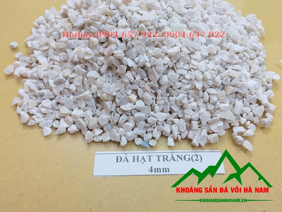 đá hạt trắng 4 mm