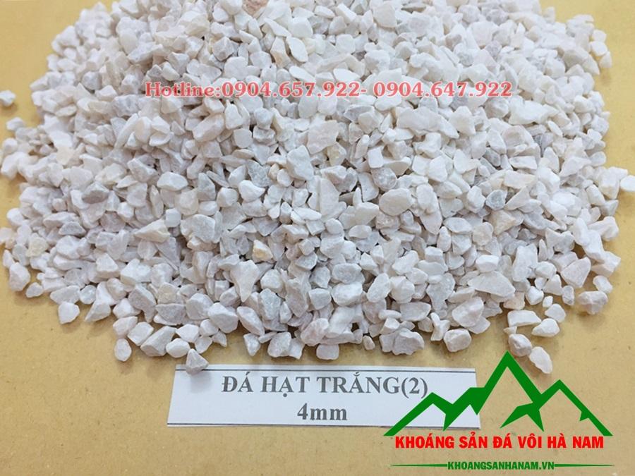 đá hạt trắng 4mm
