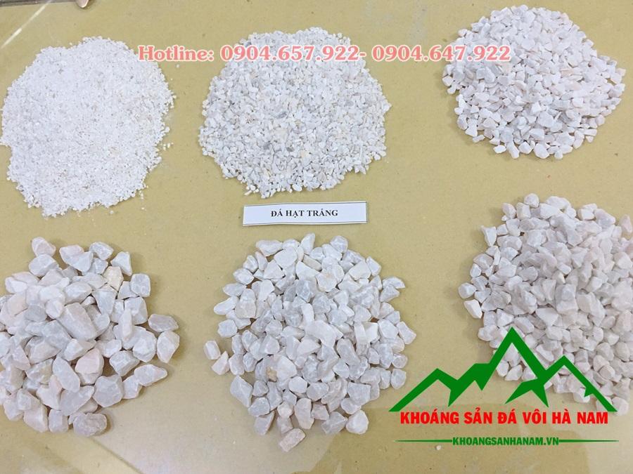 đá mi bụi trắng các kích cỡ 1-7mm