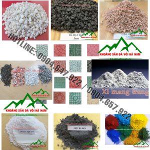 Báo giá đá hạt sản xuất gạch