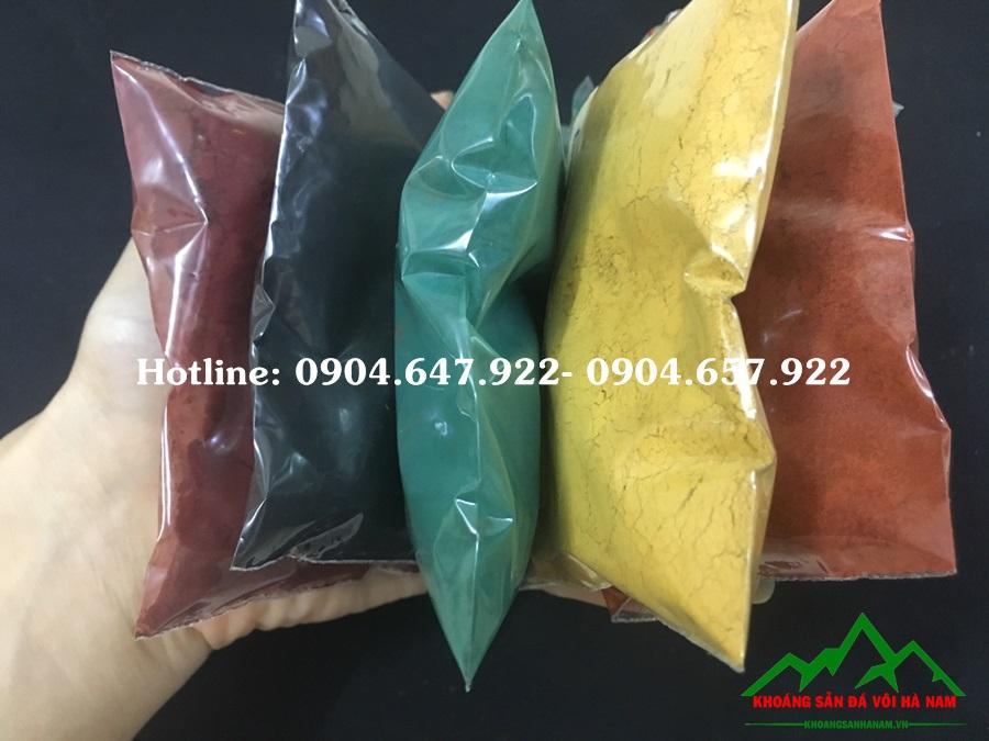 Bột màu oxit sắt công nghiệp