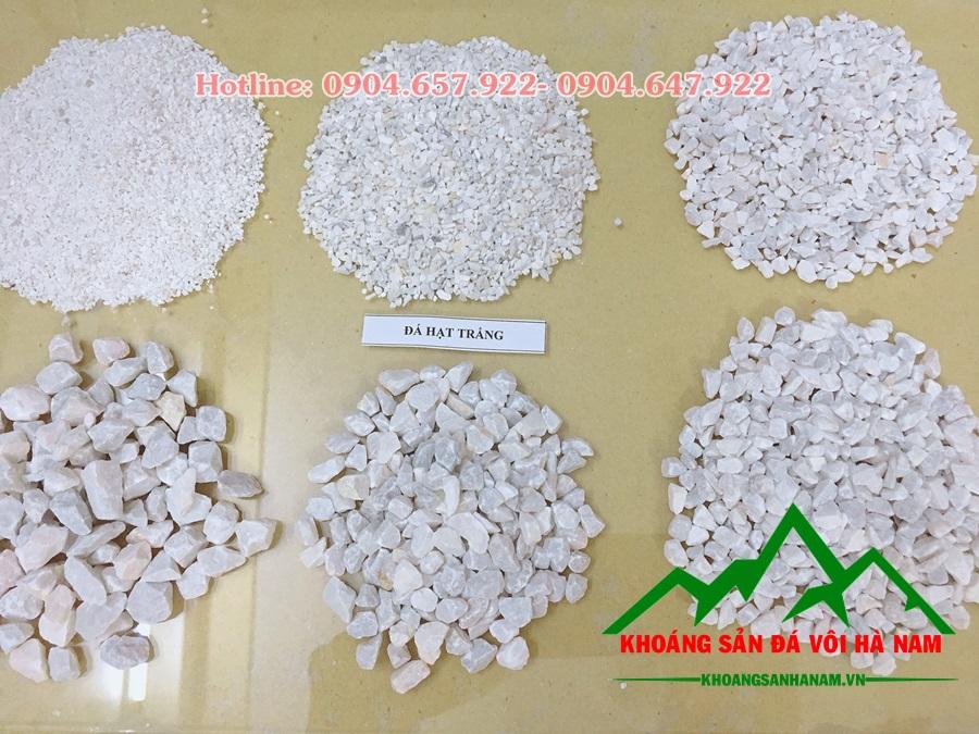 giá đá hạt trắng các kích cỡ