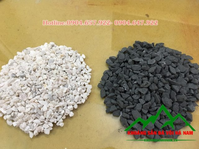Đá hạt sản xuất gạch