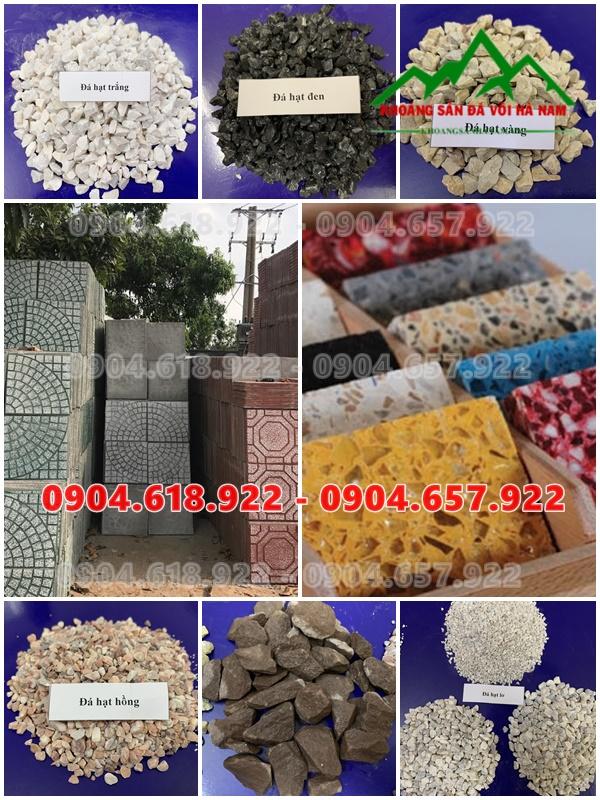 Bán đá hạt sản xuất gạch Terrazzo, mài Granito giá rẻ toàn quốc