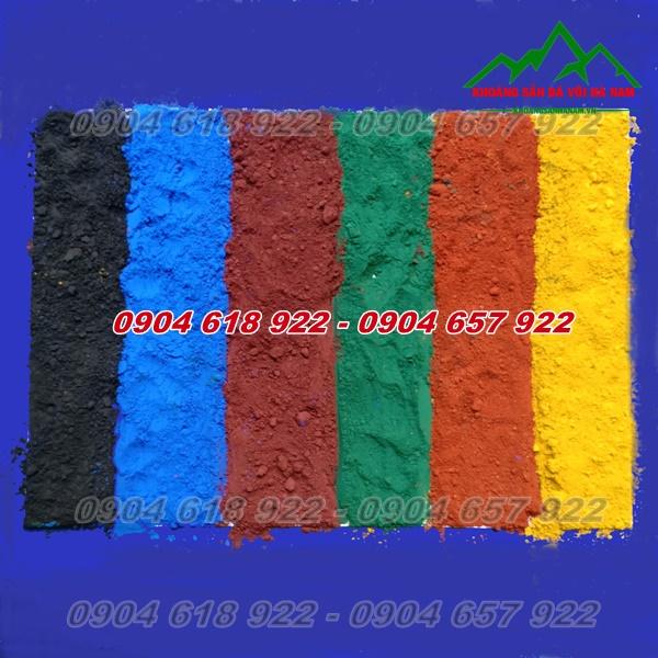 Bột màu sản xuất gạch