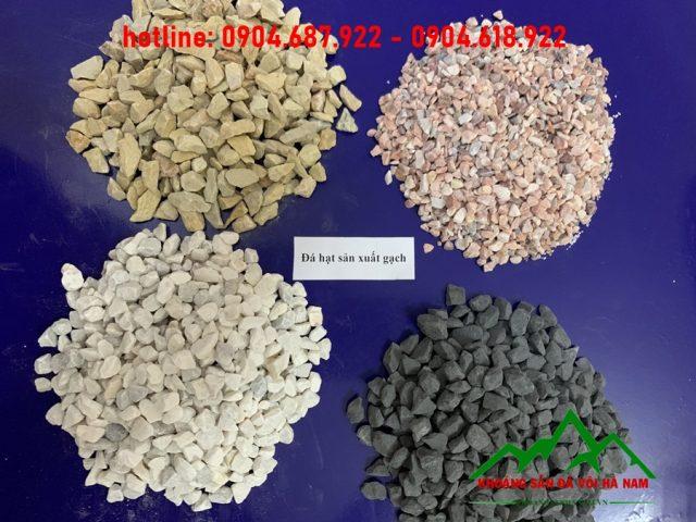 nguyên liệu sản xuất gạch