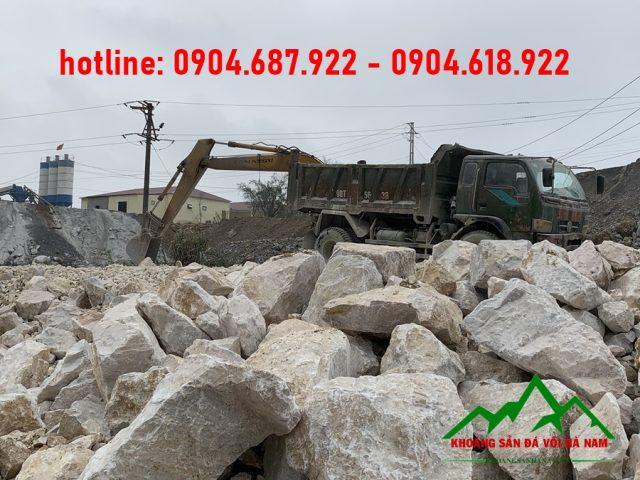 khai thác đá mỏ