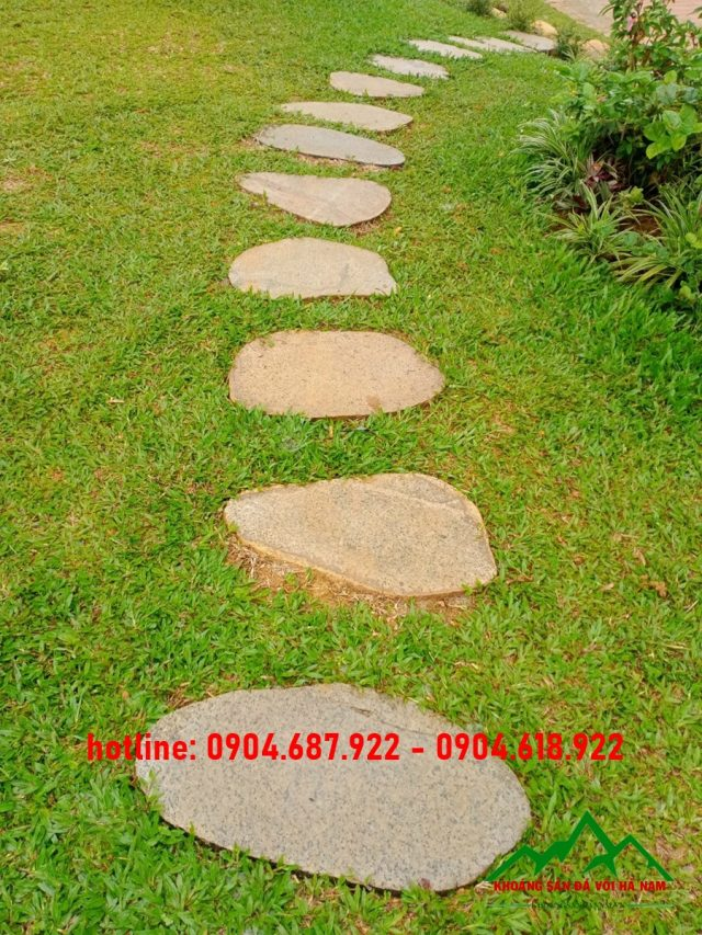 đá bước dạo sa thạch