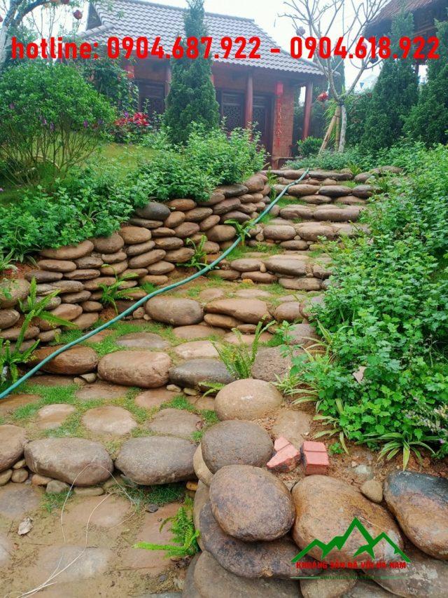 đá suối xây dựng khu nghỉ dưỡng