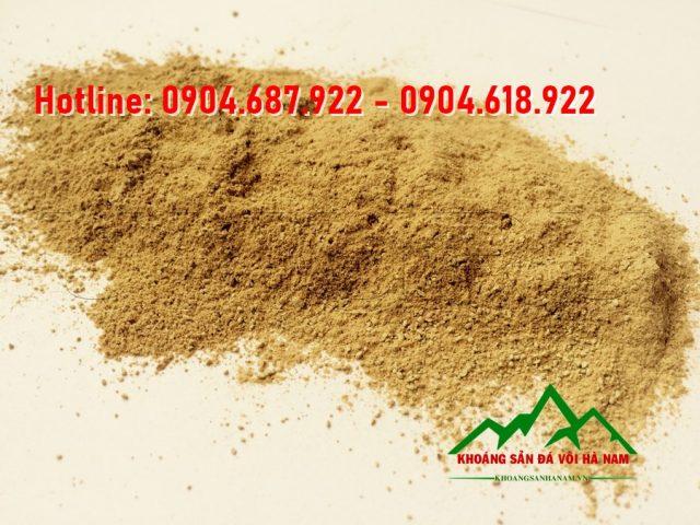 Giá bột bentonite vàng