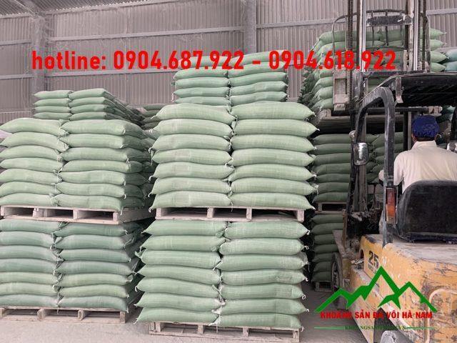 sản xuất bột đá Canxi