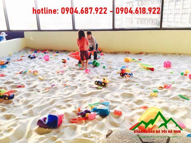 bể cát vui chơi trẻ em