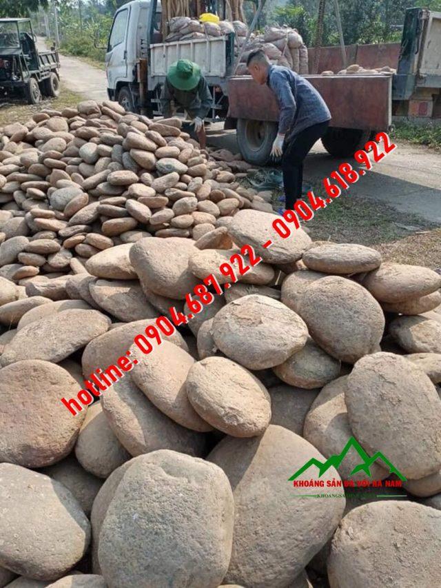 vận chuyển đá cuội
