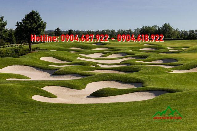 bể cát sân golf
