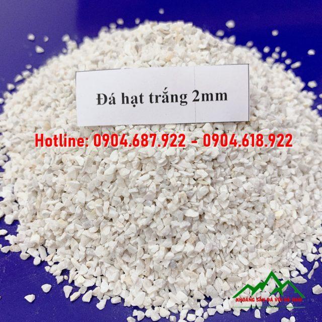 Đá hạt trắng 2mm