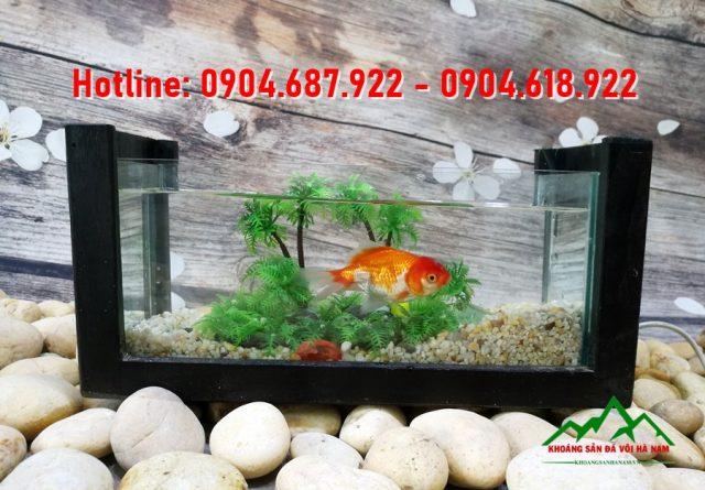 Sỏi trang trí bể cá