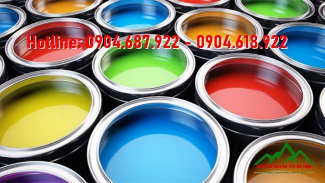 Bột màu oxit sắt sản xuất sơn nước