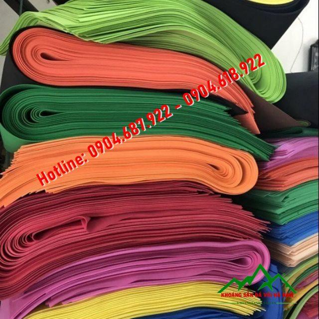 bột màu sản xuất thảm cao su