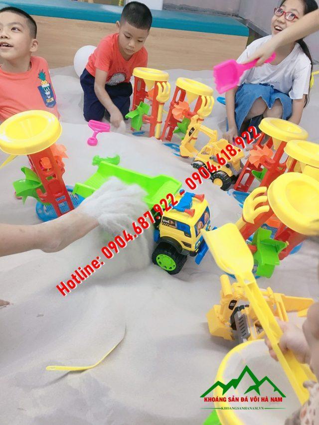 cát sân chơi trẻ em