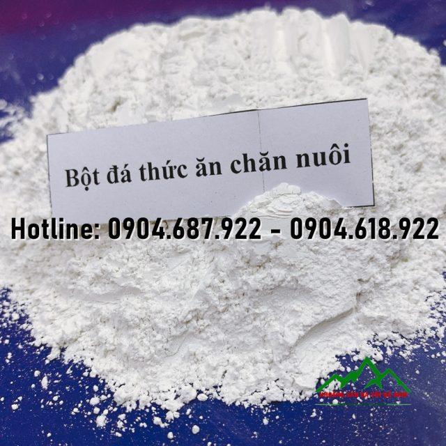 bột đá CaCO3 sản xuât thức ăn chăn nuôi