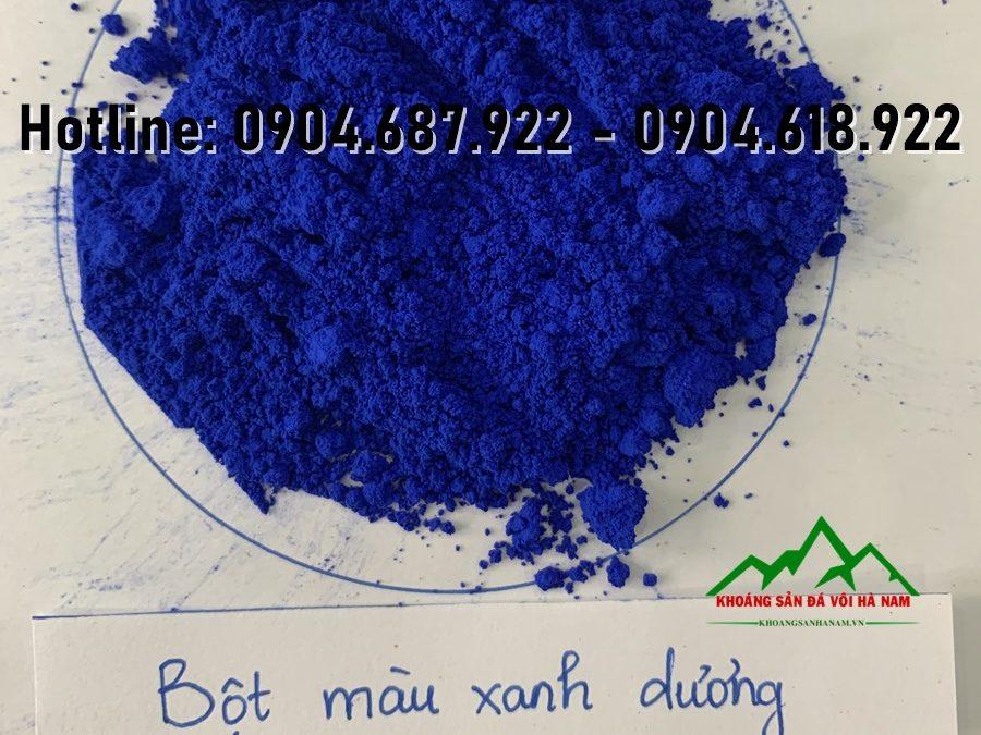 bột màu oxit sắt xanh dương