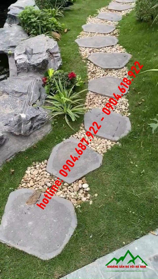 đá bước dạo sân vườn