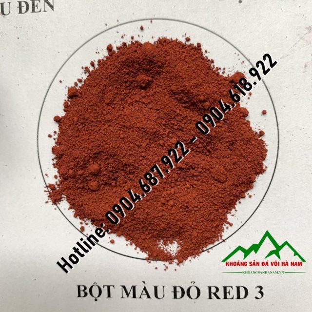 bột màu đỏ red3