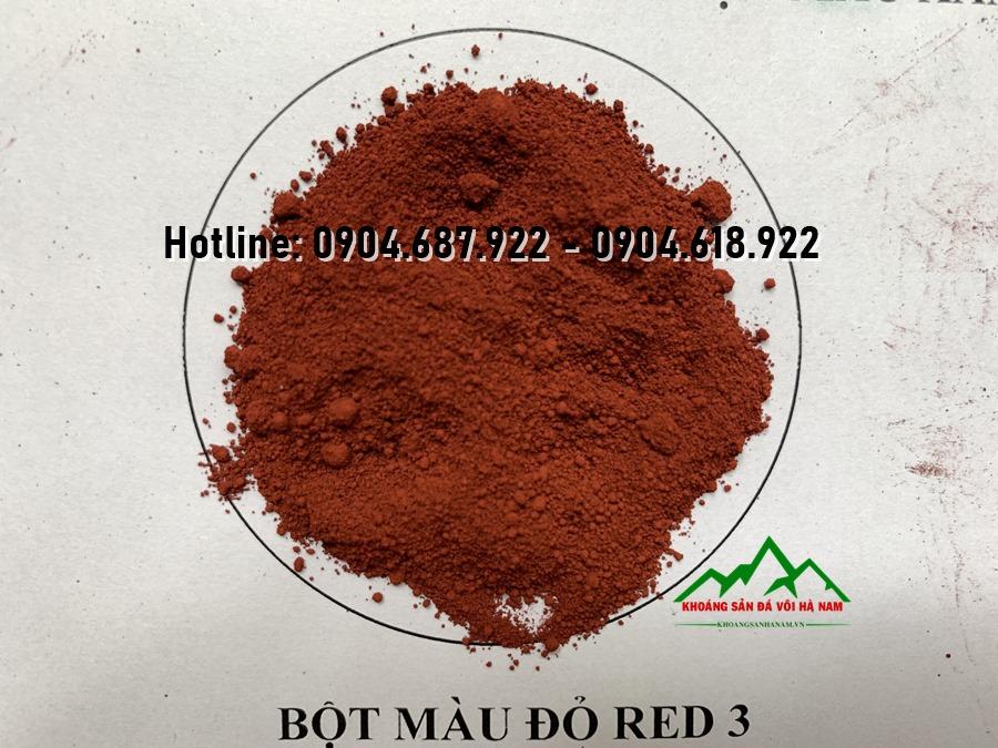 Bột màu oxit sắt RED3