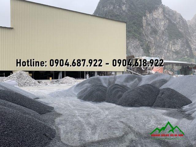 xưởng sản xuất đá hạt