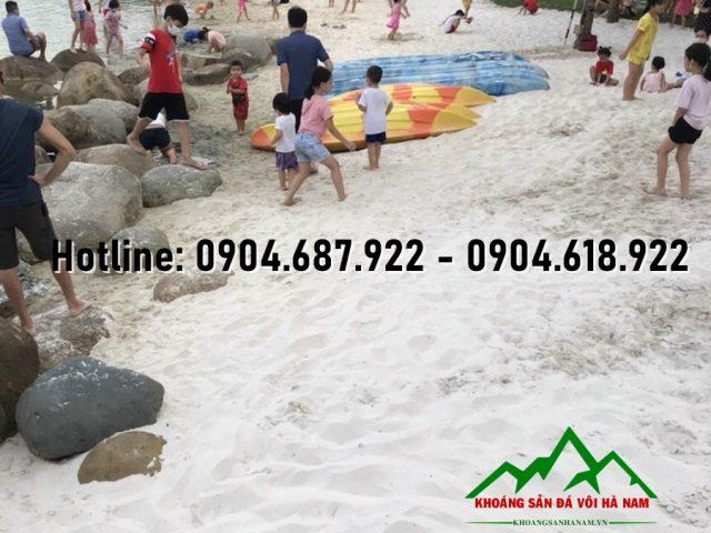 cát bãi biển nhân tạo