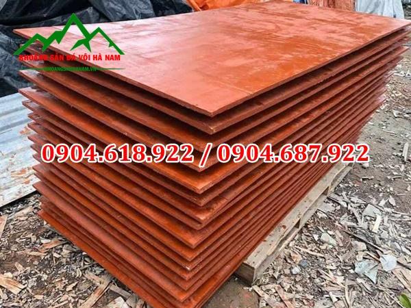Bột màu sản xuất ván gỗ ép cốp pha