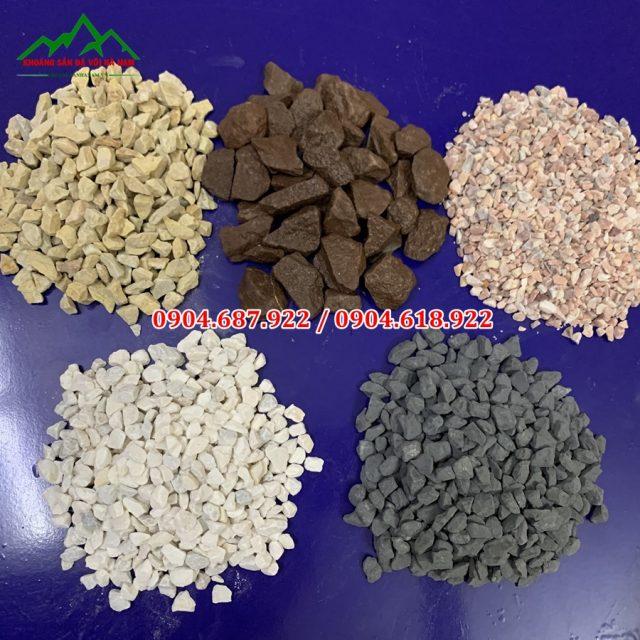 đá hạt sản xuất terrazzo
