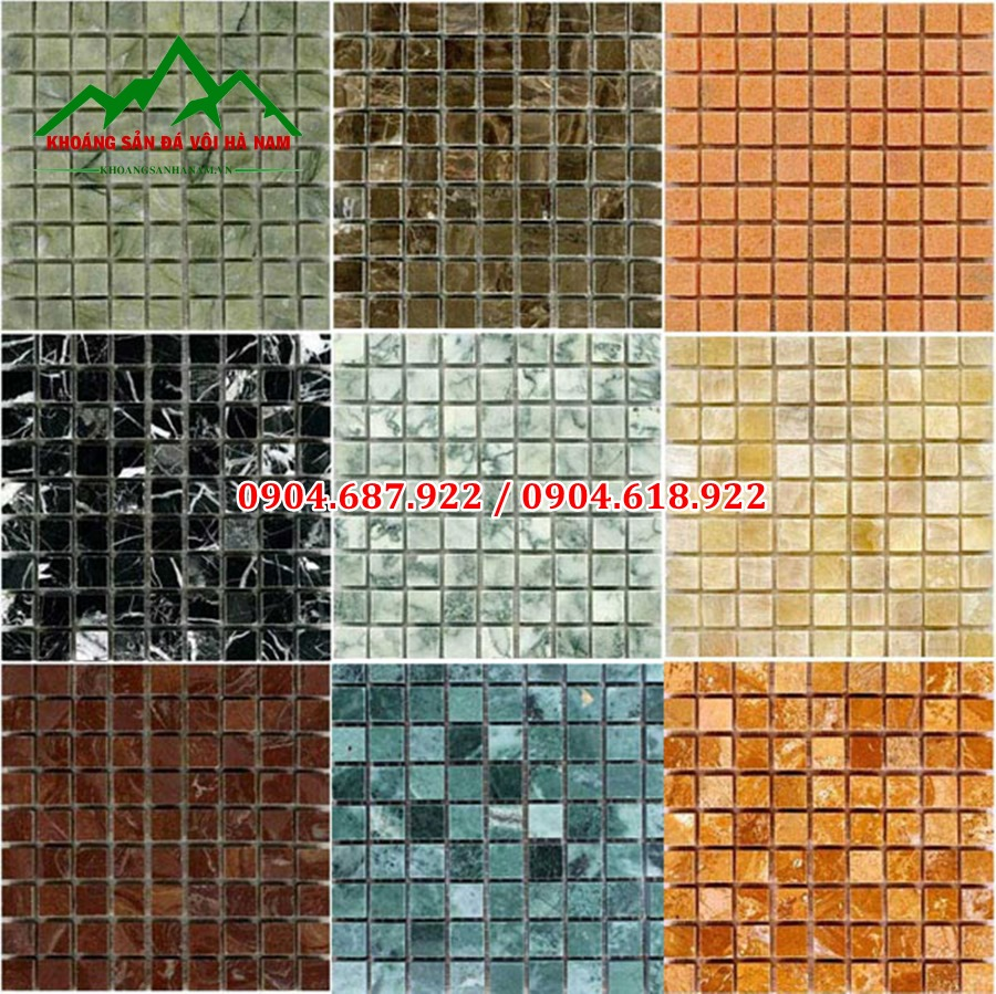 đá mosaic
