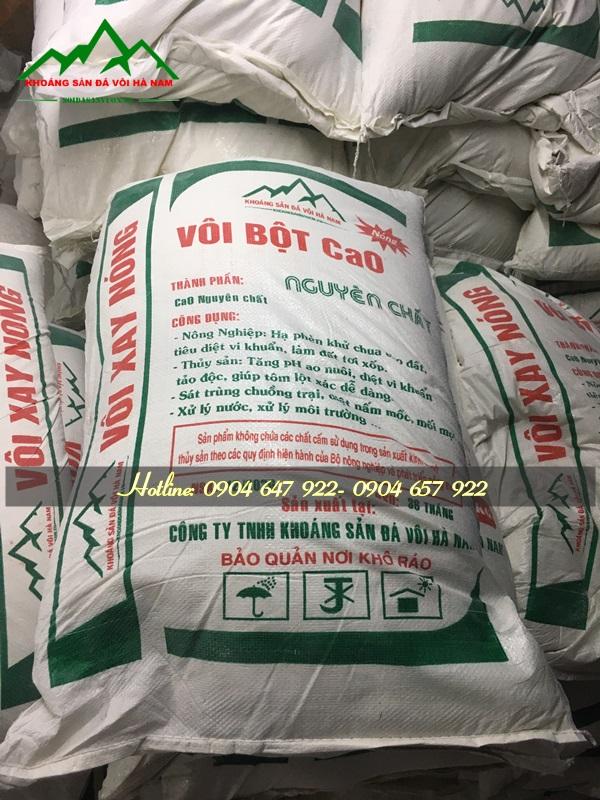 Cách bón vôi bột cho cây trồng