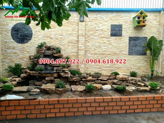 đá trang trí tranh tường