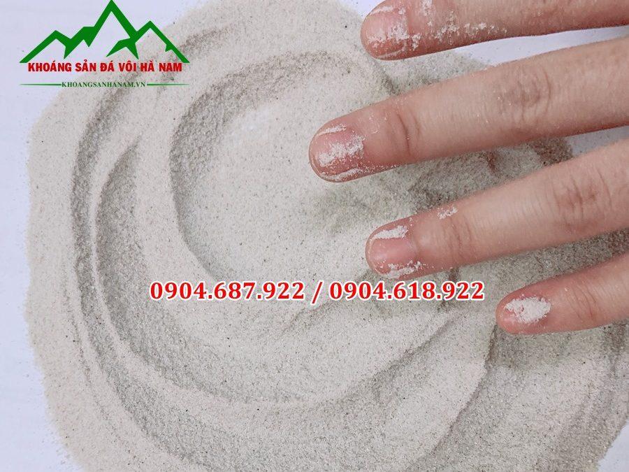 cát trắng mịn tự nhiên