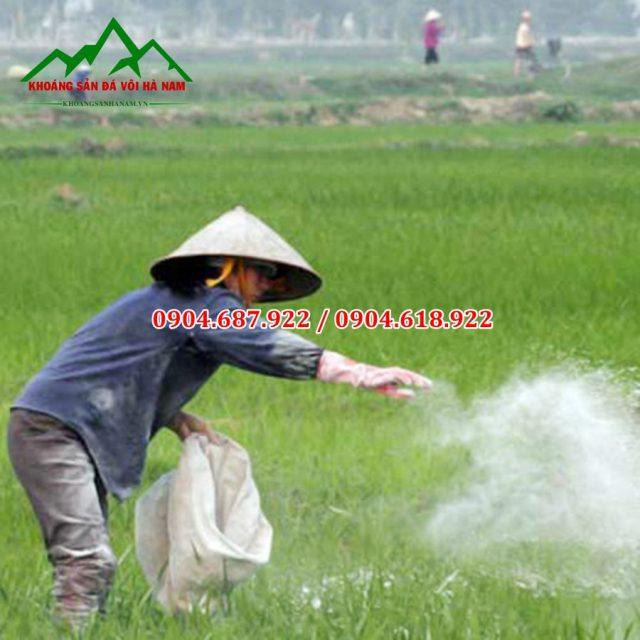 hướng dẫn ban vôi cho nông nghiệp