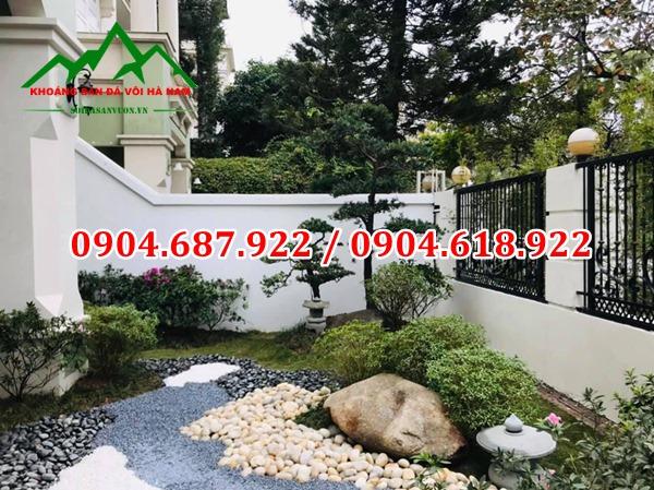 sân vườn đẹp tại Quảng Ninh